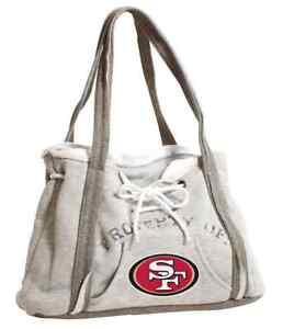 Ladies Embroidered Hoodie Purse Handbag - San Francisco 49ers - NFL