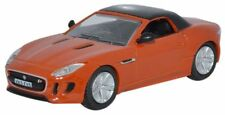 Oxford 76FTYP003 Jaguar F Type Firesand Red 1/76 Scale = 00 Gauge New -T48