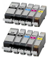 10 Non-OEM Replaces For Canon Pixma MP620 MP630 MP640 Ink Cartridges