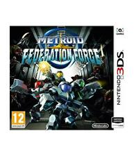 Metroid Prime Federation Force 3DS Nintendo 3dsxl compatible 2DS y amiibo