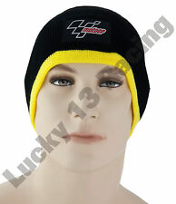 MotoGP Official licensed cool thermal beanie hat in classic Black & Yellow gift