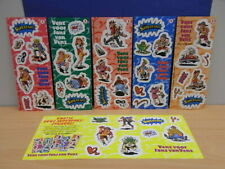 6x Sticker SHEET - Venz Superfans compleet 1995 with org.back 90's (1354)
