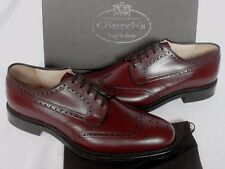 New & Boxed Church's Brown Leather 'Brookand' Brogues Derby Shoes UK 10 G £425