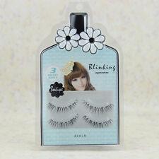 Charming False Eyelash Soft Natural Transparent Stem Black Eye End Beauty