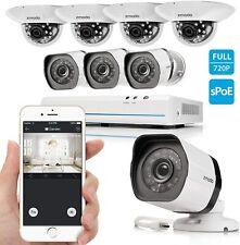 Zmodo 8CH Smart PoE Surveillance System Outdoor Indoor Security Camera Renewed