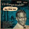 NAT KING COLE-UNFORGETTABLE NAT KING COLE BEST-JAPAN CD C15