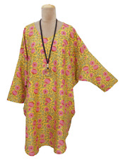 New Ladies Baggy Floral Print Tunic Top Plus UK One Size 24 26 28 30 32 34