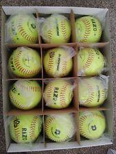 """3 Dozen Demarini Wtdrzps12Ab Synthetic Razzo Asa 12"""" Softballs 36 Balls 52 - 300"""