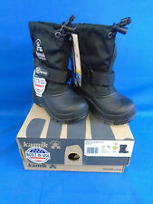 Kamik Kids Waterbug5 Winter Boots - Child Size 8 Black
