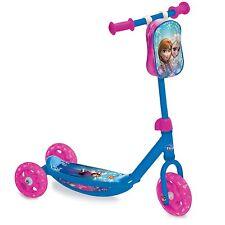 Toddlers Scooter Disney Huffy Kick Filles Jouet Extérieur Vélo Roue Princesse Frozen