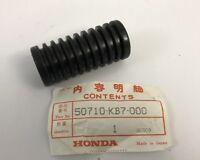 Gomma pedana post. - Rear Rubber Step- Honda CRM125 NOS 50710-KB7-000