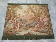 6277 - Old French / Belgium Tapestry Wall Hanging - 134 x 100 cm