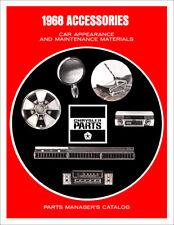 1968 Mopar Accessories Parts Catalog Chrysler Dodge Plymouth Accessory Updates
