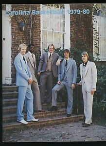1979-80 UNC Carolina 'Blue Book' Yearbook / Media Guide - James Worthy Freshman