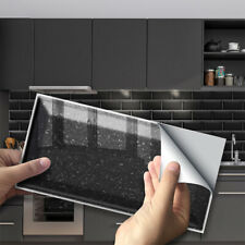 3D Self Adhesive Tile Stickers Art Decals DIY Wall Sticker Home Kitchen Decor AU