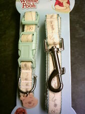 Disney Winnie The Pooh Dog Pet Lead with Clip And Collar Harness For Medium Dogs