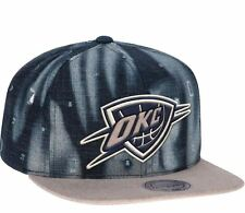 "Oklahoma City Thunder Mitchell & Ness NBA ""Torn Denim"" Snap Back Hat"