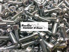 (25) M8-1.25x25mm Socket / Allen Head Cap Screw Zinc Plated Steel M8X25 mm