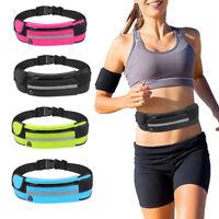 KE_ Durable Waterproof Running Waist Bag Jogging Hiking Sport Belt Anti-theft