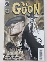THE GOON #24 (2008) DARK HORSE COMICS AUTOGRAPHED by ERIC POWELL with COA!