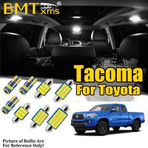 13x White Interior LED Kit + Reverse Light + Tool for Toyota Tacoma 2016-2021
