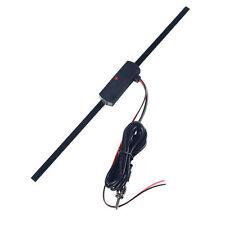 Auto Car Hidden Amplified Antenna 12V Electronic Stereo AM/FM Radio Universal