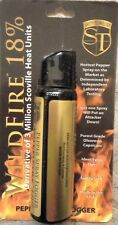 Wildfire 4 oz Ounce 18%25 OC Pepper Spray FOGGER Self POLICE Defense HOTTEST NEW