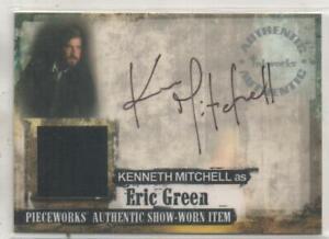 "JERICHO Auto/Costume Trading Card No.PWA3 Kenneth Mitchell ""Eric Green"""
