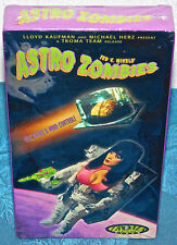 RARE ASTRO-ZOMBIES VHS Ted V. Mikels Horror Gore Space Cult Vintage SEALED NEW