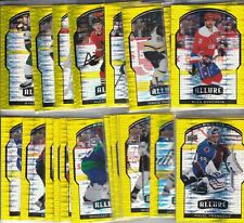 2020-21 20-21 UPPER DECK ALLURE HOCKEY YELLOW TAXI CAB PARALLEL'S 1-100