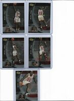 LOT OF 5 UPPER DECK IONIX MICHAEL JORDAN