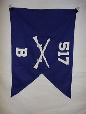 flag968 WW2 US Army Airborne Guide on 517 Parachute Infantry Regiment B Co IR42B