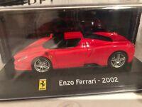 "DIE CAST "" ENZO FERRARI - 2002 "" SUPER CAR SCALA 1/43"