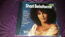 CD Shari Belafonte/Who Do You Think AM I-Album