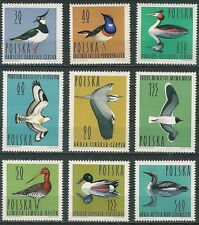 Poland stamps MNH (Mi. 1490-98) Birds