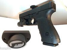 Gun Magnet Adhesive Backing Car Steering Wheel Holster Pistol Vehicle Mount