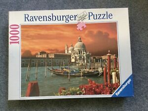 Ravensburger 1000 Piece Puzzle Complete Venice Italy Canale
