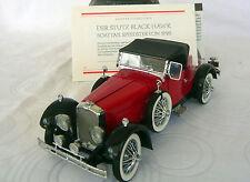 Franklin Mint: la Stutz Black Hawk Speedster di 1928 1 24 ottime condizioni.