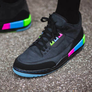 Nike Air Jordan 3 Retro SE Q54 GS Women Boys Girls Kids Trainers SIZES QUAI 54