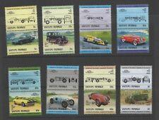 Tuvalu Vaitupu 1984 Automobiles 2nd series set of Specimen MNH postage stamps