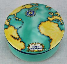 Tiffany & Co. Porcelain Trinket Box Tauck World Discovery. (BI#MK/180608)