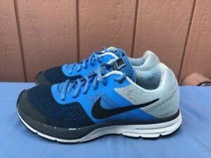 Women's Nike Pegasus 30+ US 8 Blue Anthracite White Running 599392-400 A8