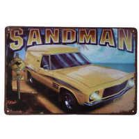 Holden Sandman Car Tin Sign Bar Shed Garage Man Cave Metal Plaque 30cm x 20cm
