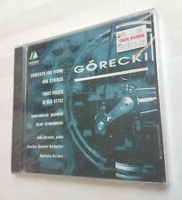 Gorecki Concerto for Piano & Strings Three Pieces in Old Style CD NEW free ship