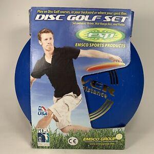 ESP Disc Golf Set 3 Disc Set PDGA Tournament Certified Original Box