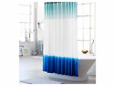 "Threshold Dip Dyed  Teal, White & Blue Design Shower Curtain - 72""x 72"""