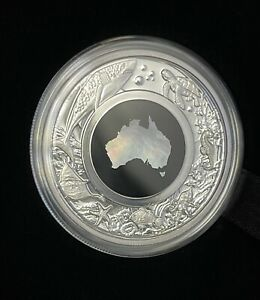 2021 Australia  Mother Of Pearl Great Southern Land 1oz Silver Proof Coin