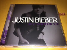 JUSTIN BIEBER cd MY WORLD 2.0 hits BABY ludacris U SMILE eenie + GOLDEN TICKET