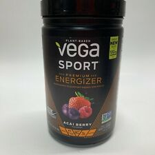Vega Sport Premium Energizer, Acai Berry 25 Servings, BB: 7/20- Free Shipping!