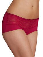 Womens Size 10,12,14,20,22, M&S Dark Crimson Smoothline Low Rise Short Knickers